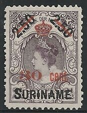Surinam 1911 NVPH 64  UNG(as issued)  VF