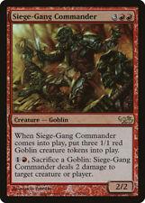MTG X1: Siege-Gang Commander *FOIL*, DD: Elves vs Goblins, R, MP - FREE US SHIP!