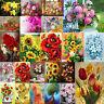 24 Styles 5D DIY Full Drill Diamond Painting Flower Cross Stitch Kits Art Decor