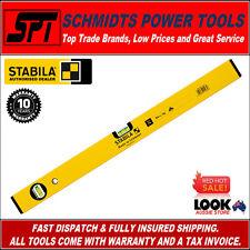 STABILA 600mm SPIRIT LEVEL 2 VIALS ALUMINIUM 70 SERIES 70/60 60cm BOX FRAME