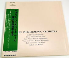 Deutsche Grammophon MG 1482 Berlin Philiharmonic Orchestra Great Conductors JPN