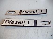 FIAT Ritmo Diesel L laterale Coppia scritta modello targhetta  DX/SX PLASTICA