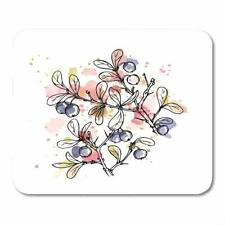 Autumn Mouse Pad Fruits Lovely Computer PC Table Anti-slip Keboard Mouse Mats