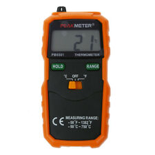 PM6501 K Type Digital LCD Thermometer Temperature Meter Tester Probe W5H6