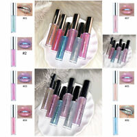 Long Lasting Matte Lip Gloss Liquid Glitter Waterproof Pencil Lipstick 7 Colors