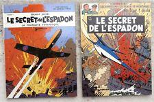 Blake et Mortimer Le Secret de l'Espadon  1 & 2 1974 Comme neufs Jacobs