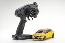 Kyosho - MINI-Z Renault Megane R.S RTR, Yellow, w/ MA-03F Chassis, FWD