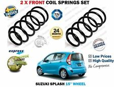 pour Suzuki Splash EX 15'' Roues 2008> NEUF 2 x AVANT RESSORT Jeu de ressorts