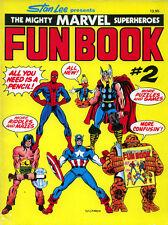 Marvel Fun Book 2 activity book RARE UNUSED