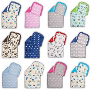 Kinderwagenset Baby Bettwäsche Garnitur für Kinderwagen Kissen Decke Füllung NEU