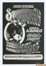 Stoneground Trukin Nymbus 1972 Jan 16 Hayward Theater Handbill