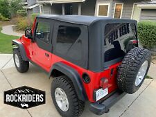 Replacement Soft Top with Upper Door Skins fits 1997-2006 Jeep Wrangler 9970235