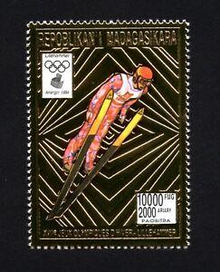 Olympic Madagascar 1994 stamp Mi#1647 A Gold MNH CV=13€