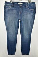 Torrid Skinny Stretch Jeans Womens Size 18 Blue Meas. 40x30.5