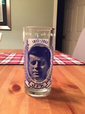 JFK  drinking glass  PT 109 Famous speech John F Kennedy
