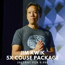 Jim Kwik 5x Course Package |🦞Value $1997+