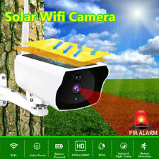 1080P Wireless Solar Powered IP Camera WiFi Security Night Vision Outdoor Home U
