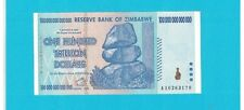 100 TRILLION $ *AA* 2008 /UNC World's largest CURRENCY Bill :zimbawabe