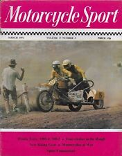 MOTORCYCLE SPORT MAGAZINE - MARCH 1976 - ft MOTO-CROSS: NORTON WASP OUTFIT [9]