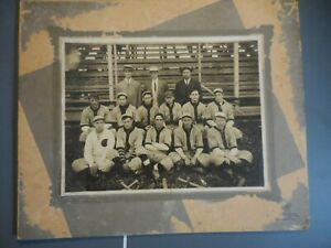Early 1900's Unknown College or Professional Baseball Team Photo