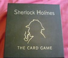 Gibson Games Sherlock Holmes Card Game Brand New Factory Sealed