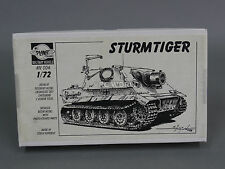 1/72 Planet Models GERMAN STURMTIGER TANK Resin Model Kit #a4