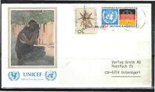 Briefmarken der Vereinten Nationen aus Einzelmarke mit Ersttagsbrief