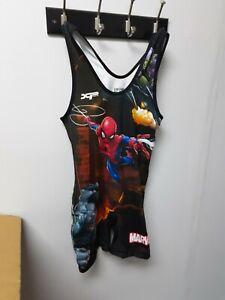 Rudis Hero Elite Series MARVEL Spider-man Singlet Size S Youth Activewear