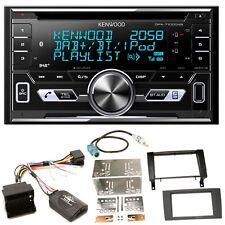 Kenwood DPX-7100DAB DAB+ USB MP3 iPhone WMA Einbauset für Mercedes SLK R171