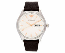 Emporio Armani Quartz (Battery) Silver Case Wristwatches
