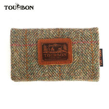 TOURBON Handmade Shooting Wallet Shotgun Certificate Licence Phone Holder Gift