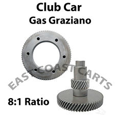 Club Car 2007'-2014' GAS Carts High Speed Gears Graziano Axle 8:1 Ratio Gear Set