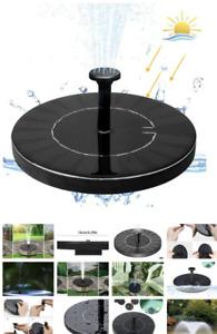 Fontaine à énergie solaire
