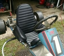 rupp chaparral go kart seat upholstery vintage