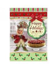 Mark Roberts Sweet Nothings Elf Embellished Boxed Christmas 8 Cards Box