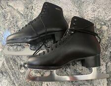 Gam Ice Skates Figure Skates sz 9.5 black