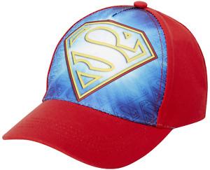Kids baseball Hat for Boys Ages 4-7 Superman/Justice League cap