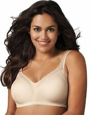 Playtex Bra 38B Beige 18 Hour Back Smoother Wirefree Bra Style #4E77