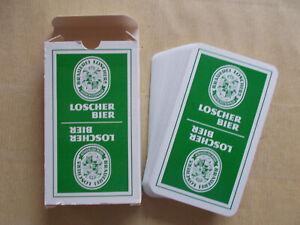 Schafkopfkarten Schafkopf Brauerei Loscher Bier Kartenspiel Spielkarten