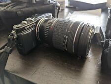 Olympus e-pl5 camera w/3 lens and flash and other accessories