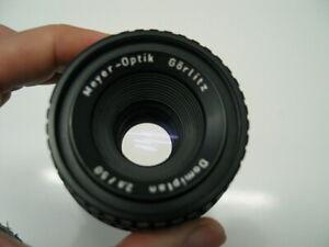 Meyer-Optic Gorlitz Domiplan 2.8 / 50mm  Manual focus Legacy Lens M42 Mount