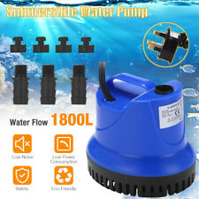 More details for fish tank water pump submersible pond aquarium waterfall fountain sump feature