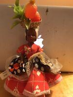 "Vintage An Original Chiquita Doll 9"" Chiquita Trinket Inc. Girl Toy B33"