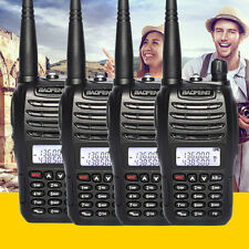 4pcs Baofeng UV-B6 Walkie Talkies two Way Ham Amateur Radio Dual Band Handheld