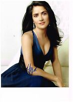 Salma Hayek 8x10 Very Sexy Authentic Hand Signed Autographed Photo W/ COA