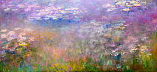 Monet 1915, Water Lily Lillies Lilies Lilly, Giclee HD Art Print or Canvas