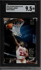 1993-94 Topps Stadium Club #1 Michael Jordan HOF'er SGC 9.5  $$$$ Triple/ Double