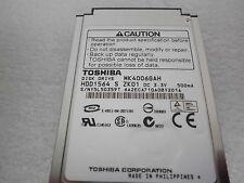 Toshiba MK4006GAH HDD1564 40GB IDE 1.8 HDD