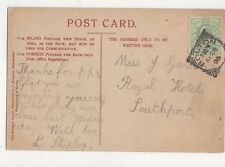 Miss J Garton Royal Hotel Southport 1905  317a