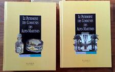 LE PATRIMOINE DES COMMUNES DES ALPES MARITIMES.  Editions FLOHIC.  2 TOMES NEUFS